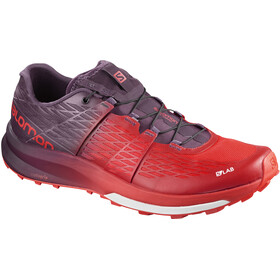 Salomon Unisex S/LAB Ultra Shoes Racing Red/Maverick/White